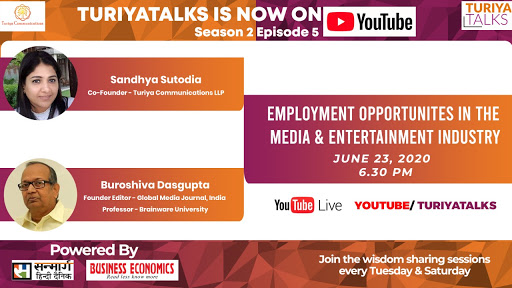 How to check upon employment opportunities in media and entertainment industry ? - ft. Dr. Buroshiva Dasgupta