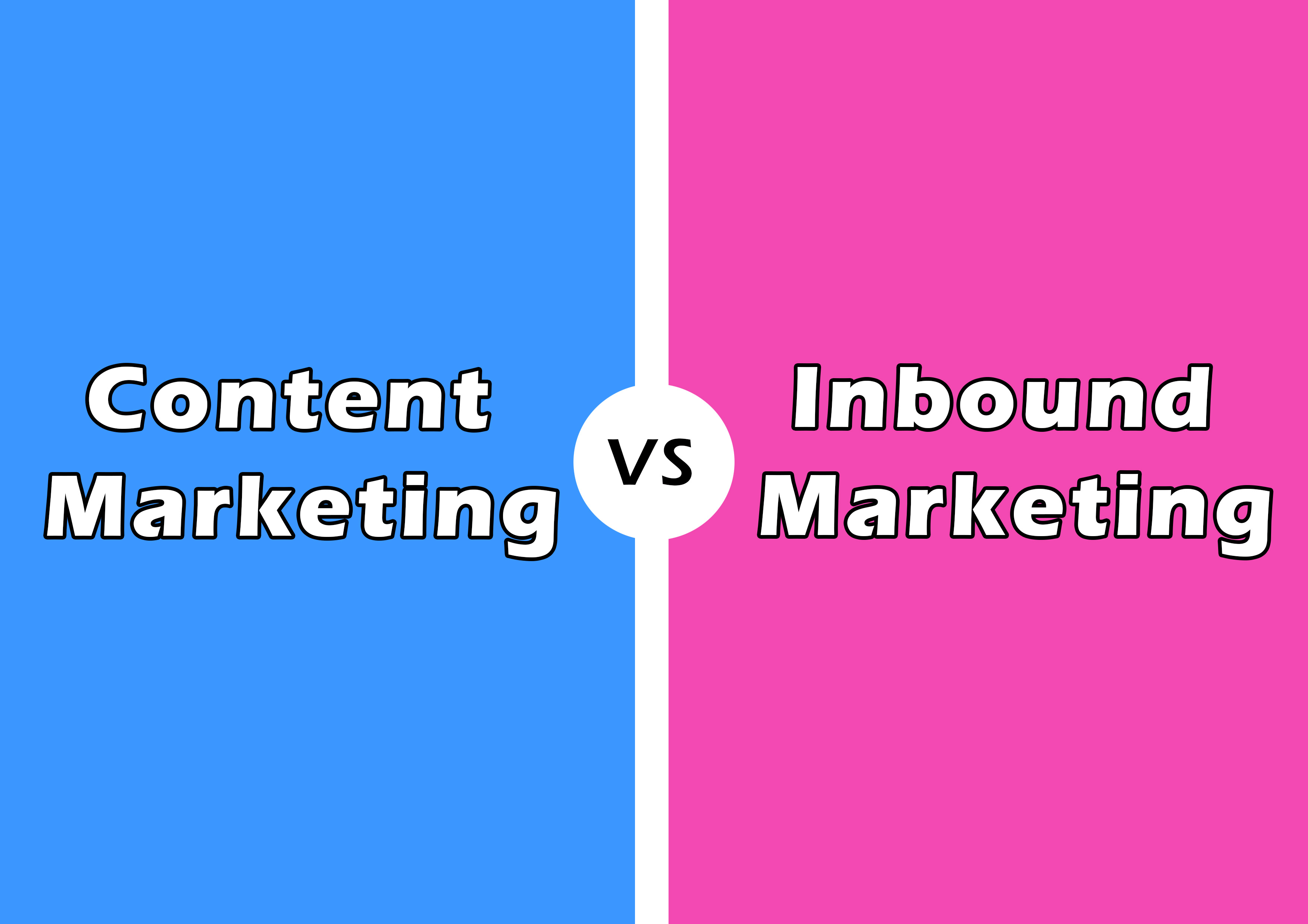 Content Marketing Vs. Inbound Marketing: What Is The Difference?